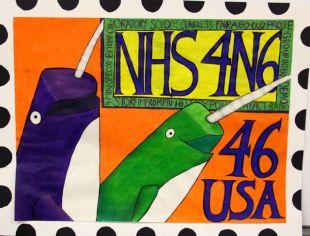 USPS Postage Stamp by Kara M.