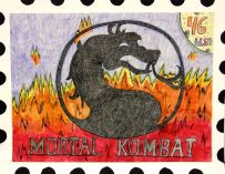 USPS Postage Stamp by Carson G.