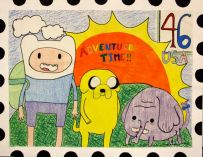 USPS Postage Stamp by Brianne P.