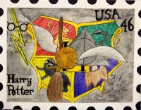 USPS Postage Stamp by Samantha A.