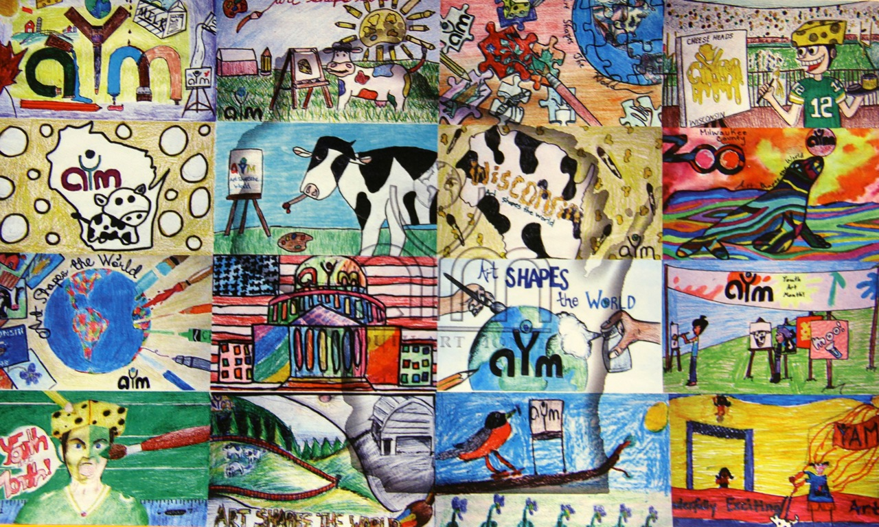 north high art student s design selected for youth art month flag