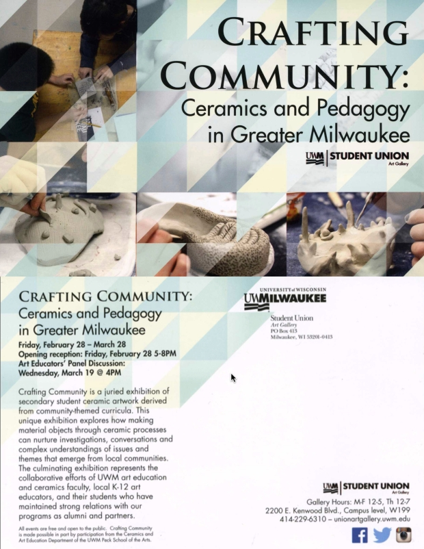 Crafting Community Postcard
