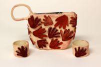 Handbag by Gwen J. © 2014 Sheboygan North High Art Department. All rights reserved.