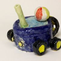 Carpool by Matthew J. Supersonic by Autumn L. © 2014 Sheboygan North High Art Department. All rights reserved.