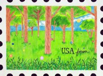 USPS Postage Stamp by Choua
