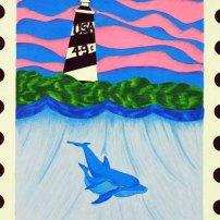 USPS Postage Stamp by Marissa