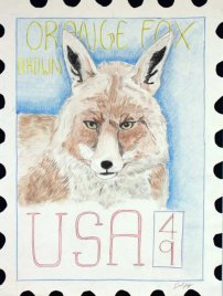 USPS Postage Stamp by David