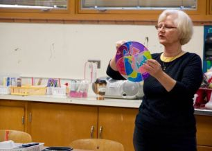 Artist Lecture Series: silk painting with artist, Patty Aker