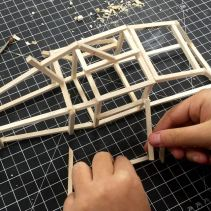 Art Foundations 3 endo/extotopic sculptures in progress
