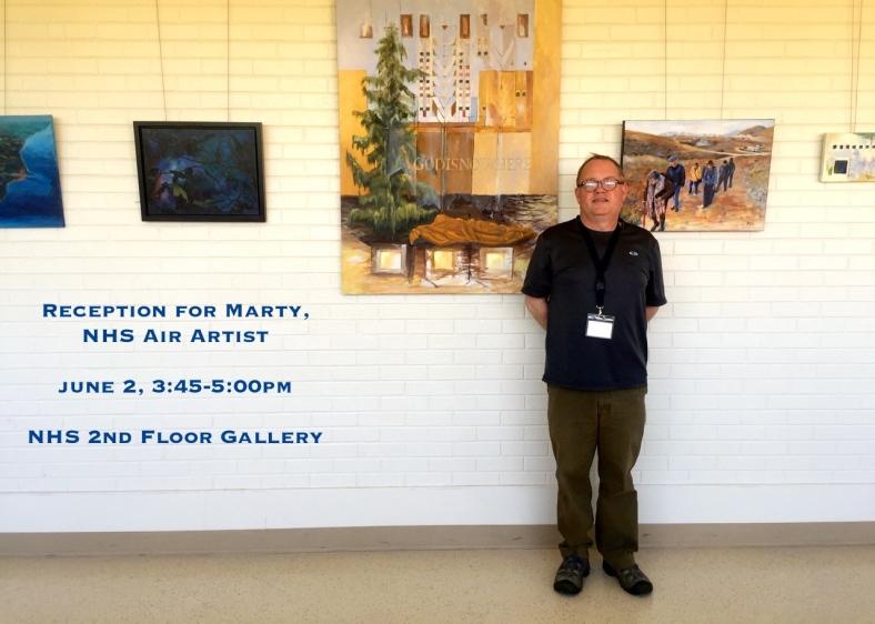 marty reception