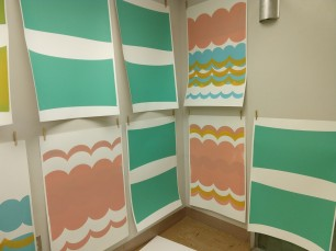 tapestry mono-prints